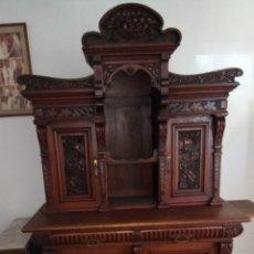 Antigüedades: MUEBLE DE MADERA ROBLE. Lote 174306175