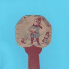 Antigüedades: PAY PAY PUBLICITARIO DE CARTÓN. ANISADOS Y LICORES JUAN ANTONIO NADAL. BARCELONA. Lote 174312704