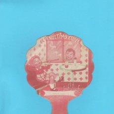 Antigüedades: PAY PAY PUBLICITARIO DE CARTÓN. EL PENÚLTIMO CUPLÉ. CERRADURAS DE SEGURIDAD ANTONIO GARCÍA. Lote 174324285
