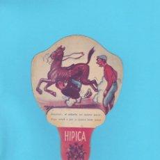 Antigüedades: PAY PAY PUBLICITARIO DE CARTÓN. ZSOLT. SOLER Y MORA, ASTER, BARCELONA. Lote 174325455