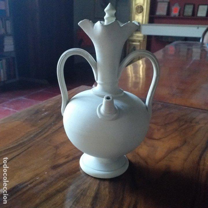 PEQUEÑO BOTIJO-CÁNTARO. ALCORA. SIN PINTAR. (Antigüedades - Porcelanas y Cerámicas - Alcora)