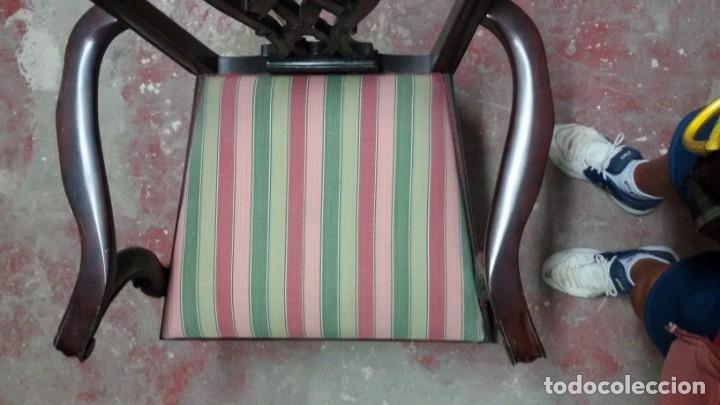 Antigüedades: Preciosa silla Chippendale - Foto 4 - 158202430