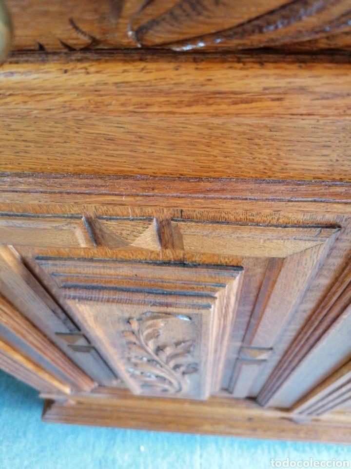 Antigüedades: Aparador de roble muy bonito antiguo en buen estado con señales de uso normales - Foto 4 - 174358685