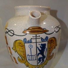 Antigüedades: TARRO DE FARMACIA.R ARISTOL. TALAVERA. CINFA. ESCUDO. Lote 174371697