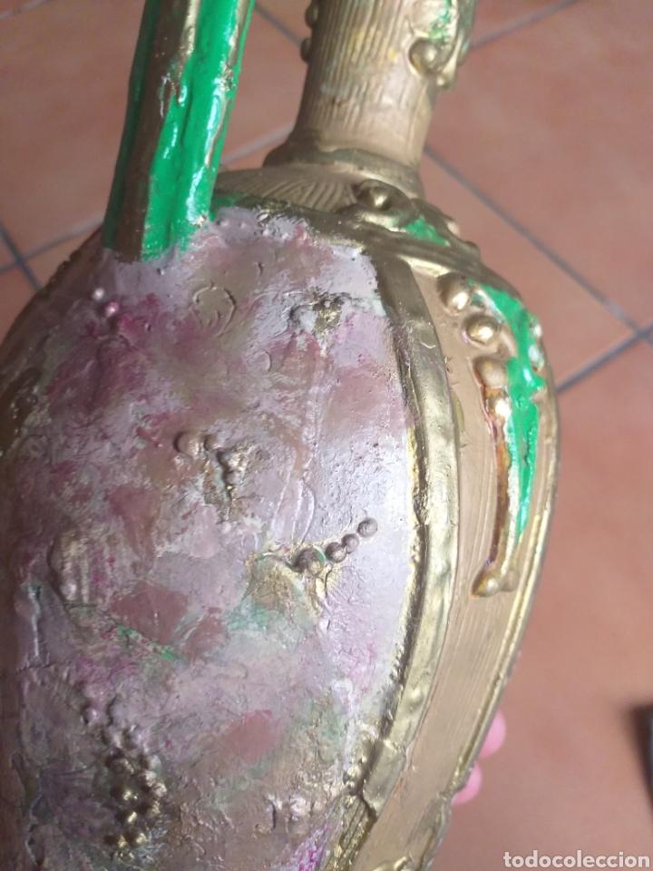 Antigüedades: JARRON O ANFORA,CREO QUE YESO? - Foto 8 - 174373903