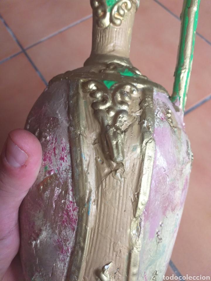 Antigüedades: JARRON O ANFORA,CREO QUE YESO? - Foto 11 - 174373903