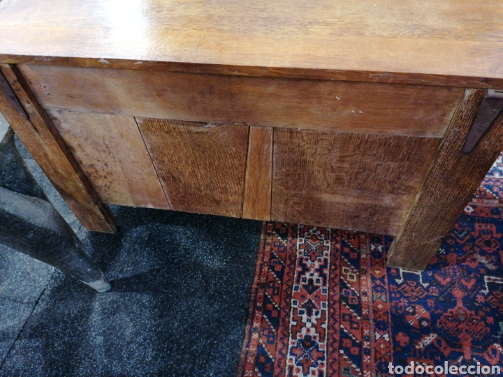 Antigüedades: Arca de roble macizo tallado - Foto 3 - 174377953