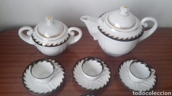 Antigüedades: Finisimo juego de cafe Castro Sargadelos - Foto 3 - 174434682