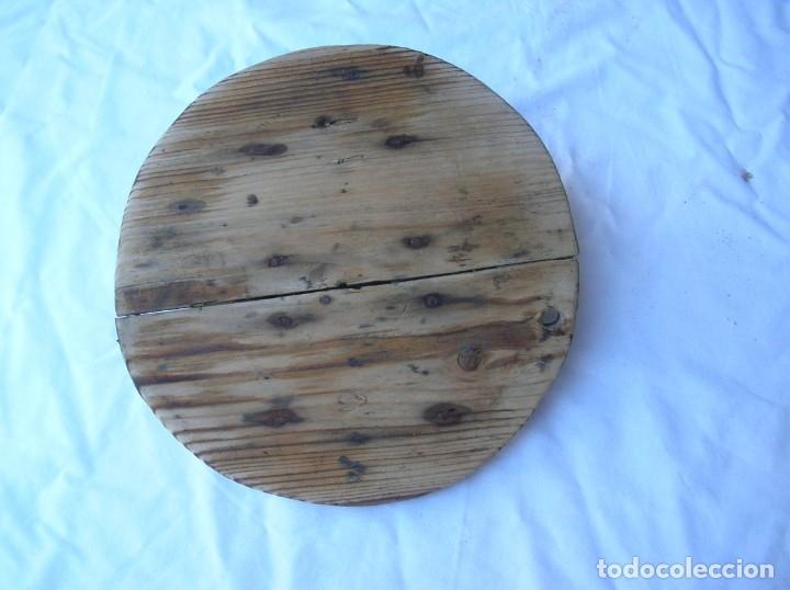 Antigüedades: Orza .Matanza . años 40 / 50 .Ceramica Lucena . Alt .44 cm .Boca 22 cm. Tapa madera . nuevas fotos - Foto 6 - 71170025