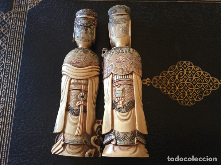 Antigüedades: Marfil policromado - Foto 2 - 174442484
