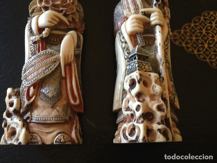 Antigüedades: Marfil policromado - Foto 3 - 174442484