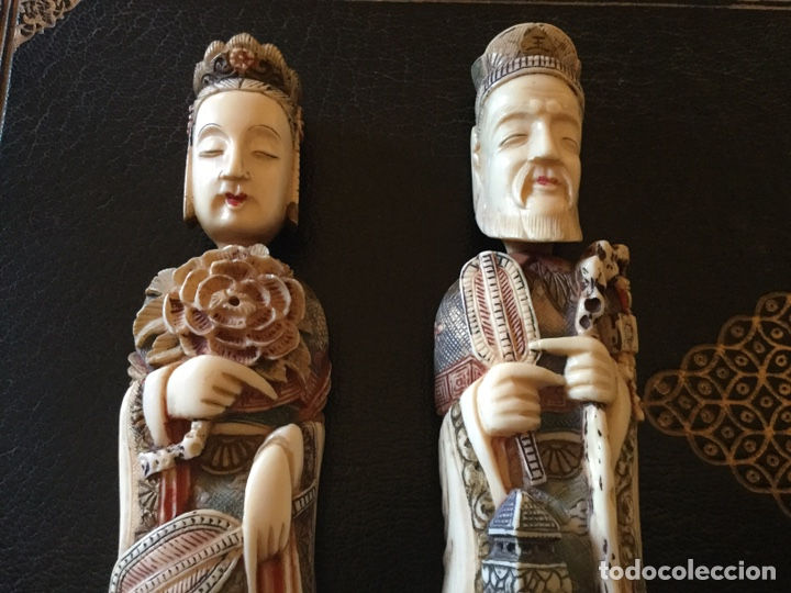 Antigüedades: Marfil policromado - Foto 4 - 174442484