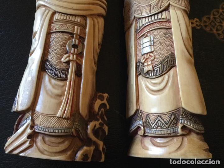 Antigüedades: Marfil policromado - Foto 5 - 174442484