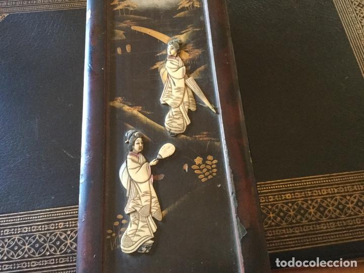 Antigüedades: Antigua caja japonesa - Foto 2 - 174442663