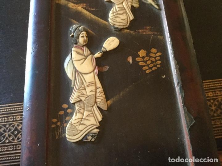 Antigüedades: Antigua caja japonesa - Foto 3 - 174442663