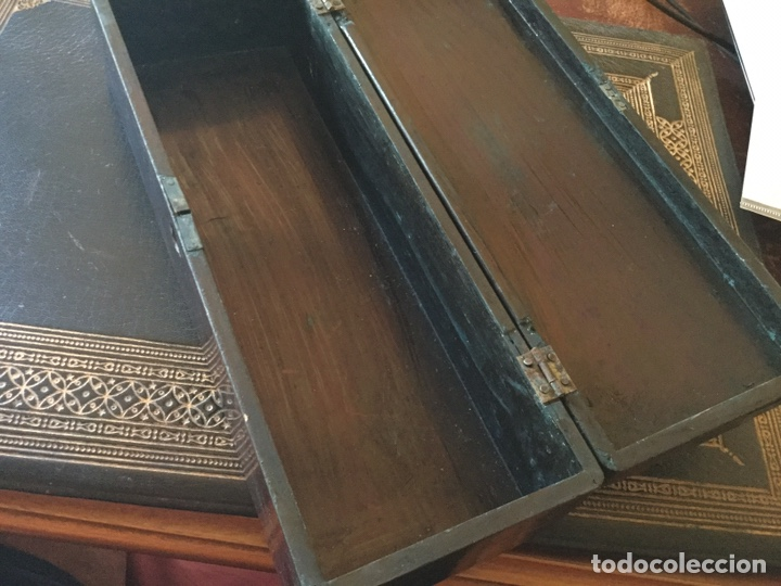 Antigüedades: Antigua caja japonesa - Foto 6 - 174442663