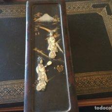 Antigüedades: ANTIGUA CAJA JAPONESA. Lote 174442663