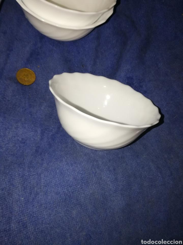 Antigüedades: Juego tazones porcelana - Foto 2 - 174443234