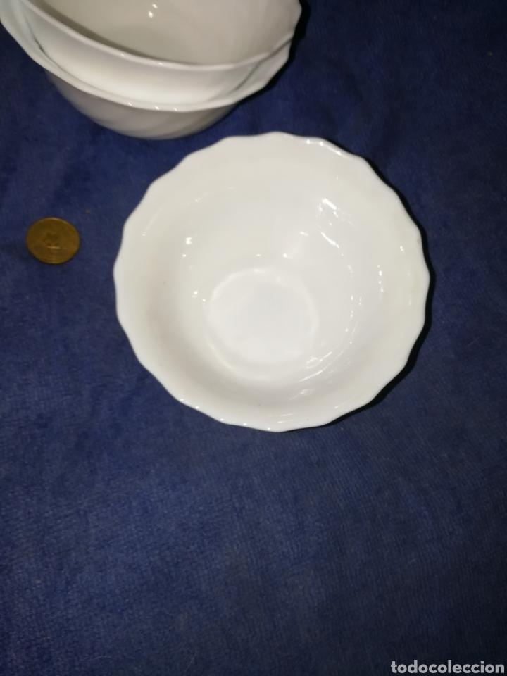 Antigüedades: Juego tazones porcelana - Foto 3 - 174443234