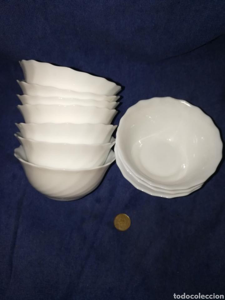 JUEGO TAZONES PORCELANA (Antigüedades - Porcelanas y Cerámicas - Otras)