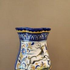 Antigüedades: ANTIGUA GRAN JARRA PUENTE ARZOBISPO ?? SELLO ACR ALTURA 34CM. Lote 174456642