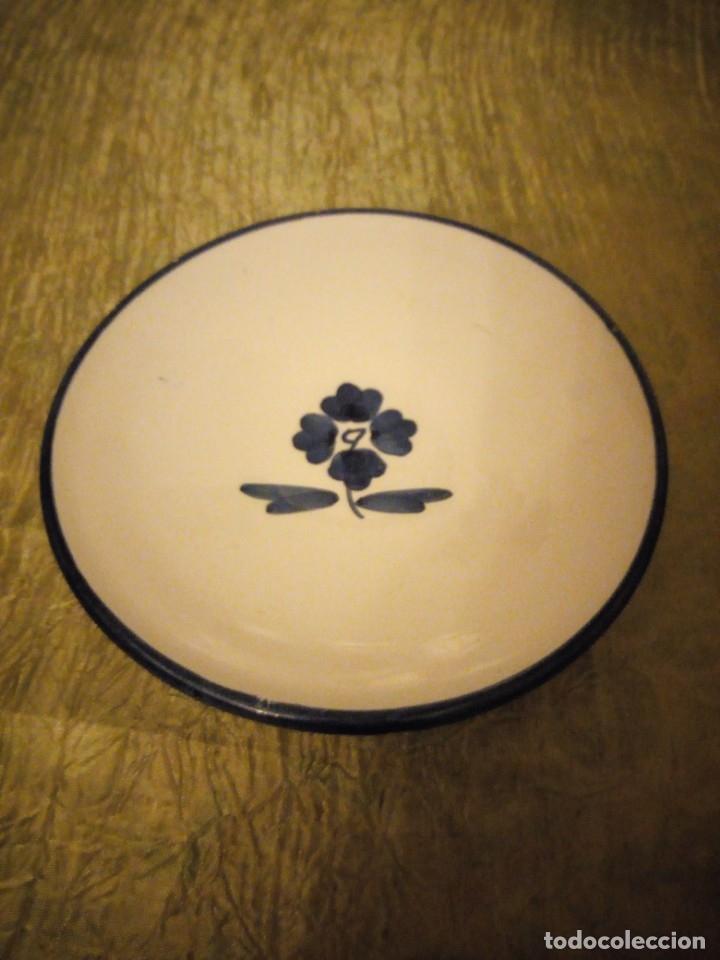 Antigüedades: plato de cerámica j.c.f. puecte del arzobispo - Foto 2 - 174456833