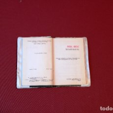 Antigüedades: MISAL BREVE PRIMERA COMUNION - D. EUSEBIO ARREGUI DIAZ - EDITORIAL CANTABRICA - BILBAO 1969. Lote 174462940