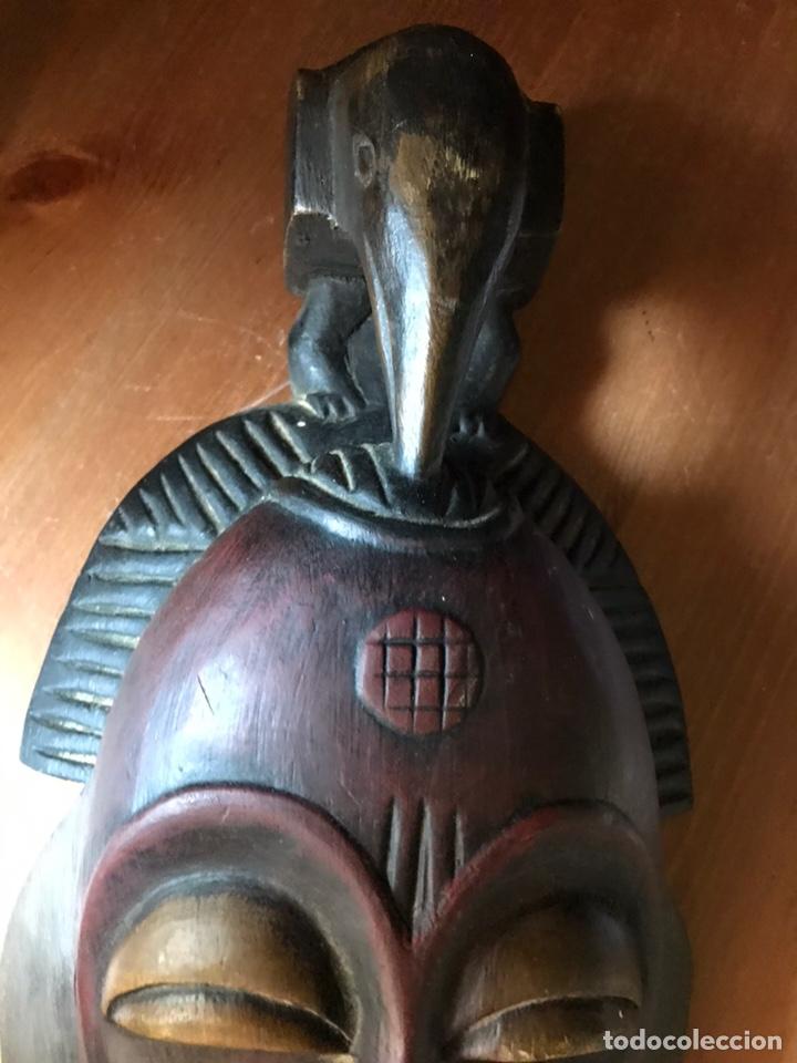 Antigüedades: Máscara de madera Africana - Foto 4 - 174463734