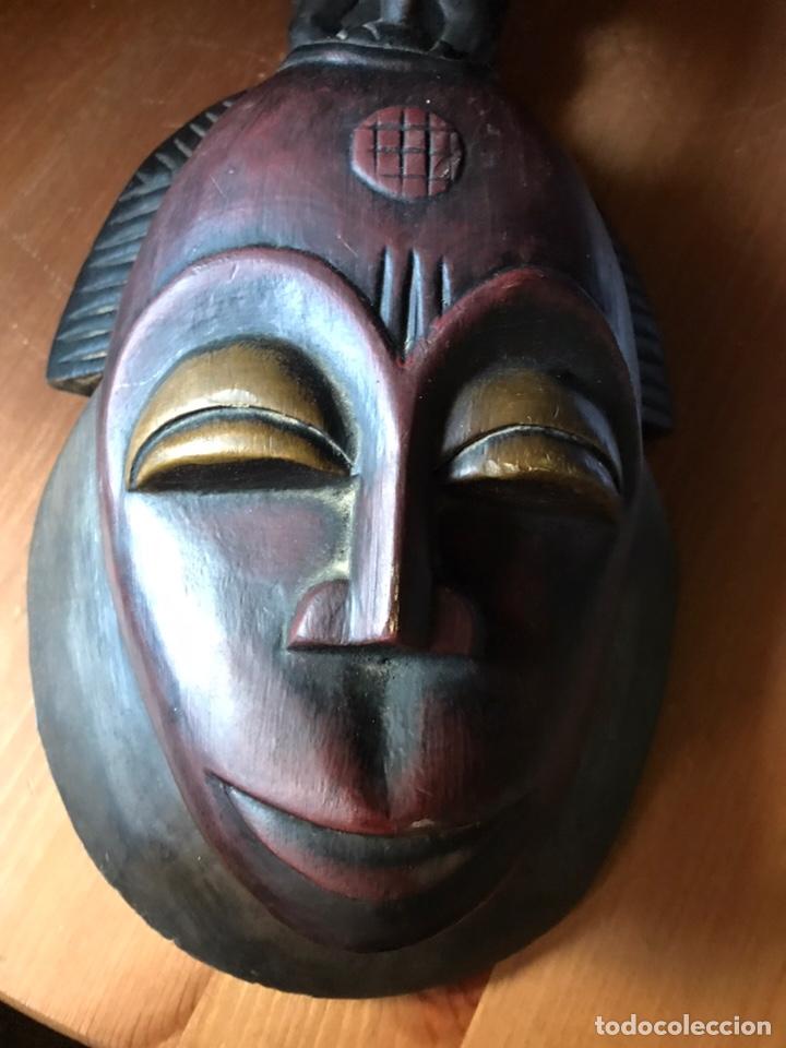 Antigüedades: Máscara de madera Africana - Foto 5 - 174463734