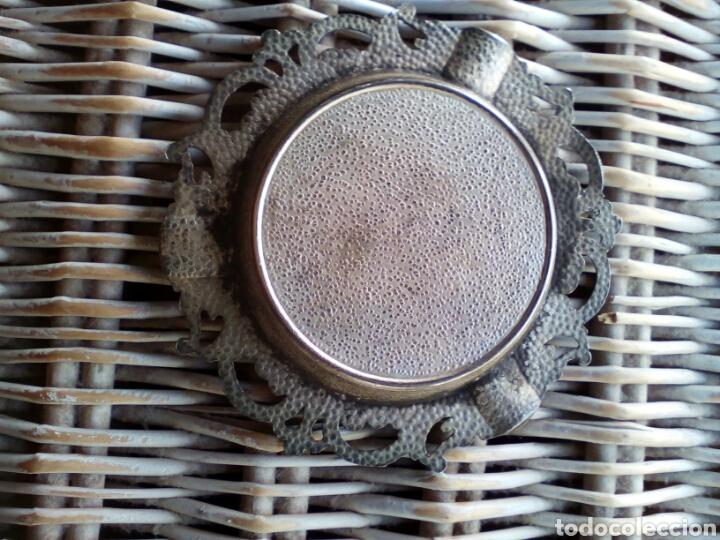 Antigüedades: Antiguo Cenicero de Metal recuerdo de PALENCIA - Foto 2 - 174465989