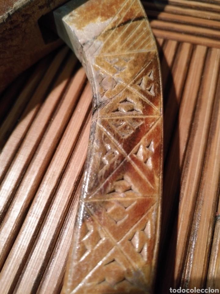 Antigüedades: Casca piñones pastoril Antiguo , Casca piñones Madera antigua - Foto 4 - 174479287