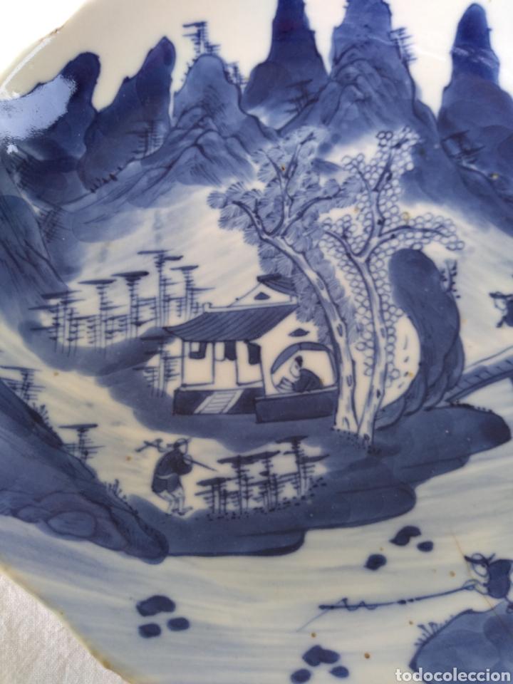 Antigüedades: Plato chino - Foto 2 - 174494975