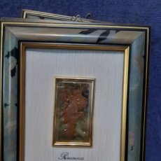 Antigüedades: CUADRO ITALIANO DE LAS ESTACIONES DEL AÑO EN PLATA DE LEY. Lote 174498850