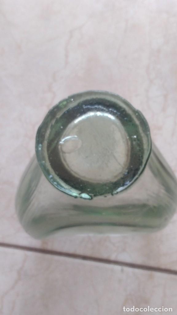 Antigüedades: Antiguo centro de mesa de vidrio hecho a mano - Foto 2 - 174504174