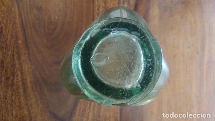 Antigüedades: Antiguo centro de mesa de vidrio hecho a mano - Foto 9 - 174504174