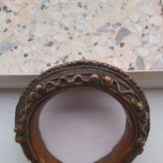 Antigüedades: PULSERA BRONCE COSTA DE MARFIL. Lote 174517298