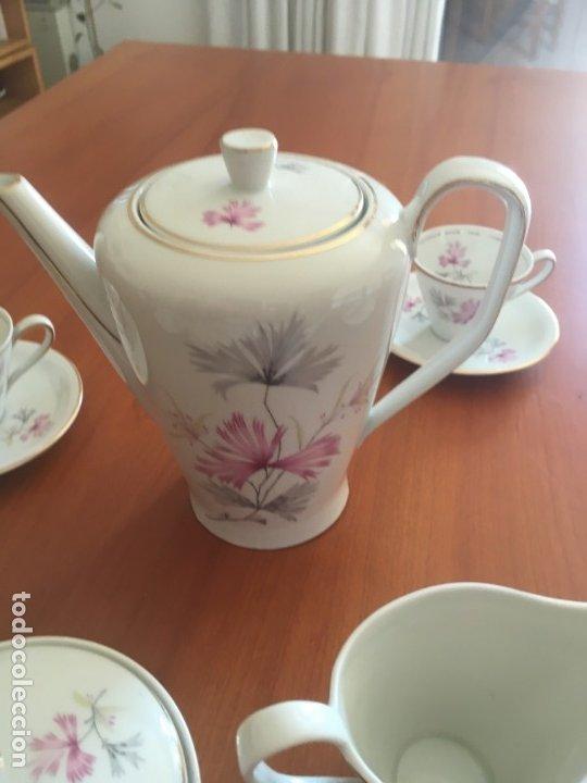 Antigüedades: Antiguo Juego de café de 6 servicios SANTA CLARA de Vigo - Konig Porzellan MAH Kunstableilung. - Foto 3 - 174522664