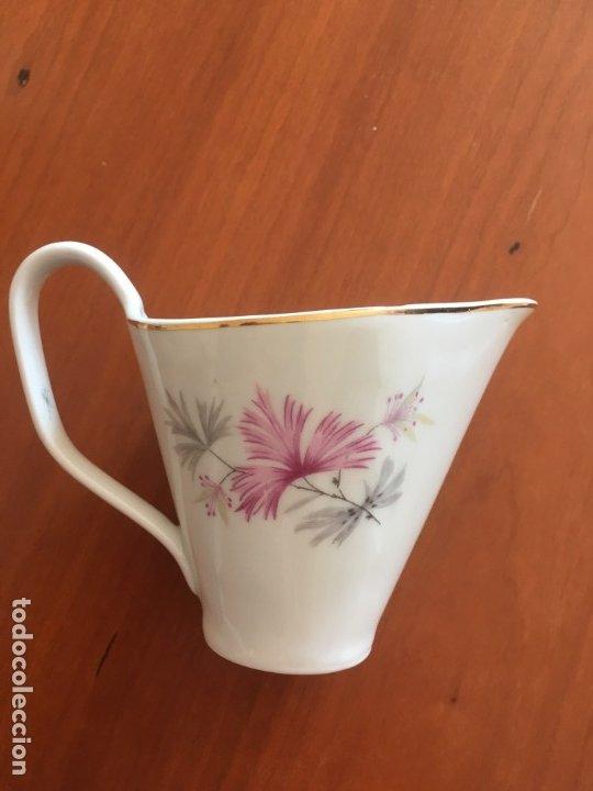 Antigüedades: Antiguo Juego de café de 6 servicios SANTA CLARA de Vigo - Konig Porzellan MAH Kunstableilung. - Foto 6 - 174522664