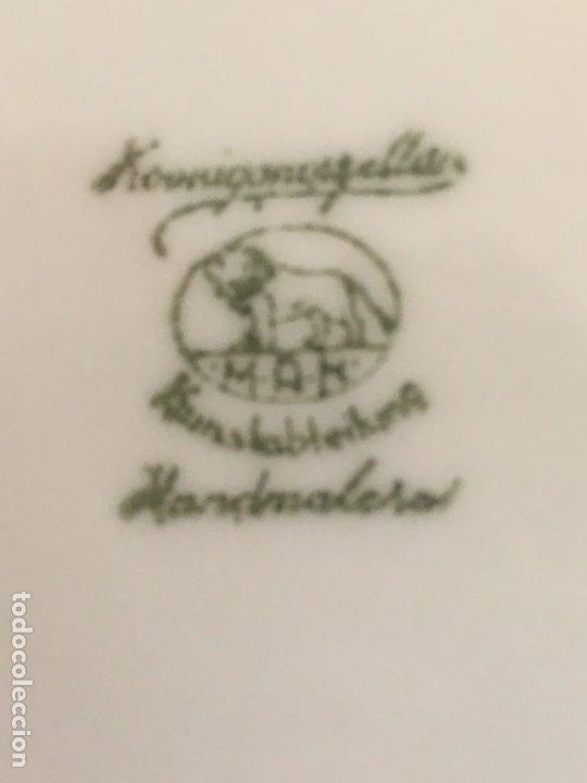 Antigüedades: Antiguo Juego de café de 6 servicios SANTA CLARA de Vigo - Konig Porzellan MAH Kunstableilung. - Foto 9 - 174522664