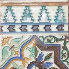 Antigüedades: AZULEJOS ANTIGUOS. Lote 174526330