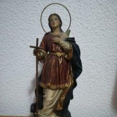 Antigüedades: ANTIGUA IMAGEN SANTA ELENA DE OLOT. Lote 174526652