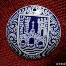 Antigüedades: MEDALLON SARGADELOS 'ENCONTRO CON MANUEL LOUREIRO REY, O GROVE 25/10/91' + INFO. Lote 174559084