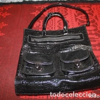 Antigüedades: LOTE 53 BOLSOS, STEFANO ORSO,CATS,FEDERIKA COLLECCTION, BAGGAGERIE, LANCEL PARIS,DENBAR.... - Foto 28 - 174574404