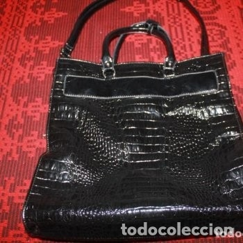 Antigüedades: LOTE 53 BOLSOS, STEFANO ORSO,CATS,FEDERIKA COLLECCTION, BAGGAGERIE, LANCEL PARIS,DENBAR.... - Foto 29 - 174574404