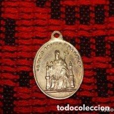 Antigüedades: MEDALLA DEL SIGLO XIX SAN BLAS . Lote 174701732