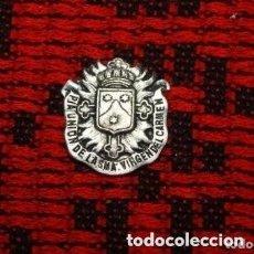 Antigüedades: MEDALLA PIA UNION DE LA SMA VIRGEN DEL CARMEN. Lote 174702608