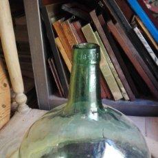 Antigüedades: 4 DAMAJUANAS CRISTAL MISMO TAMAÑO. Lote 174894702