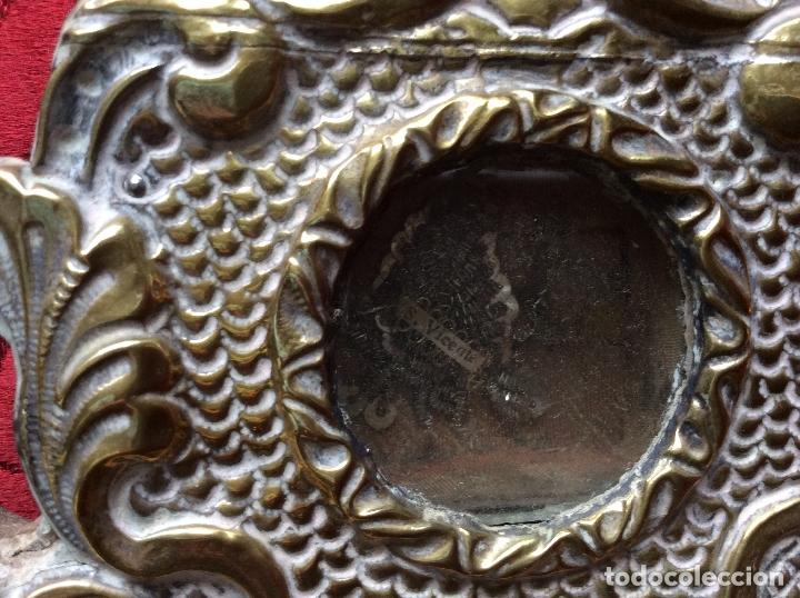 Antigüedades: RELICARIO-CUSTODIA METAL PLATEADO SIGLO XVIII,RELIQUIAS SAN ANTONIO-S.EVARISTO Y S.VICENTE-47X20 cm - Foto 10 - 174957287
