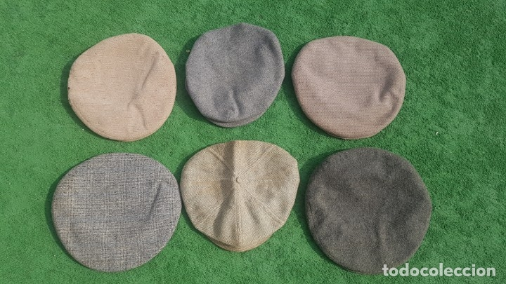 Antigüedades: Conjunto de 6 boinas/sombreros - Foto 8 - 174960659