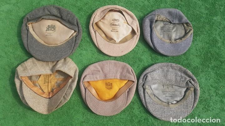Antigüedades: Conjunto de 6 boinas/sombreros - Foto 2 - 174960659